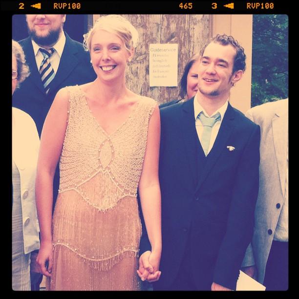 Två lyckliga individer, fotade av @detljuvalivet